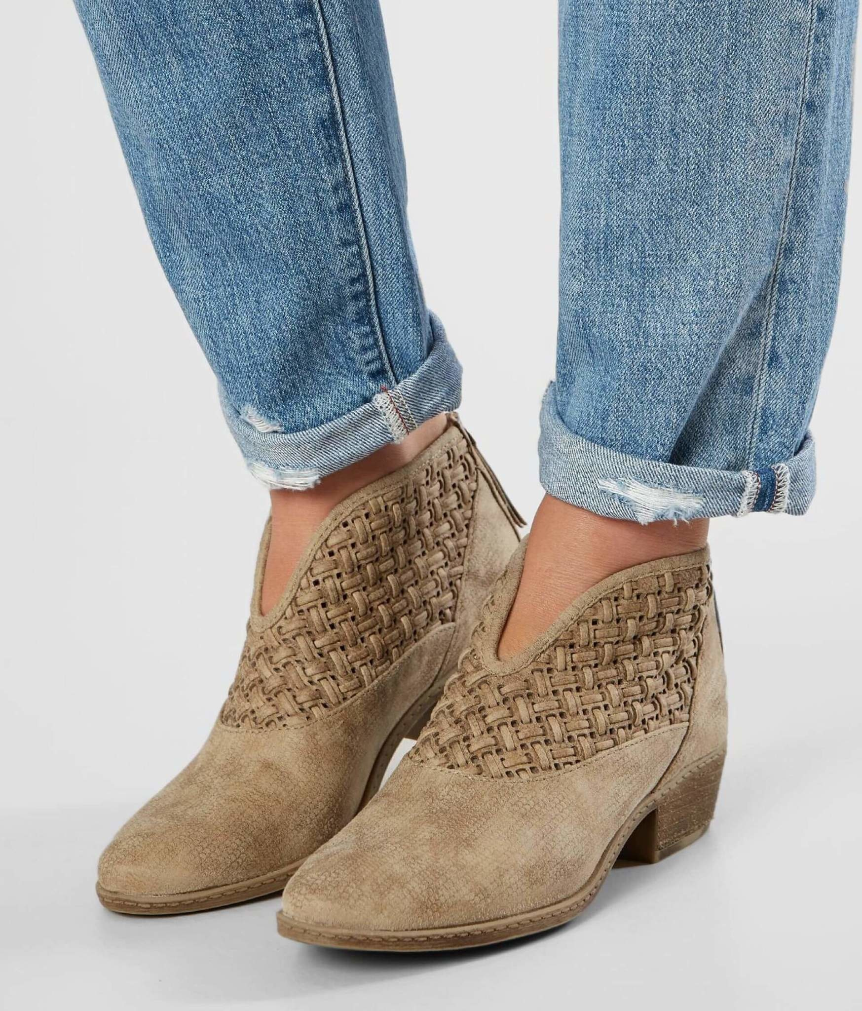 Petra Weaved Ankle bootie