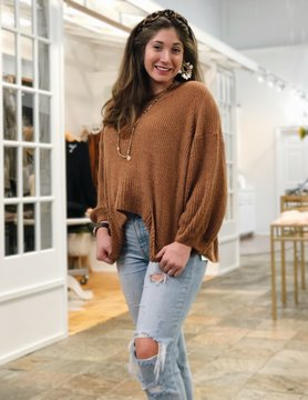 Lightweight Boxy Sweater