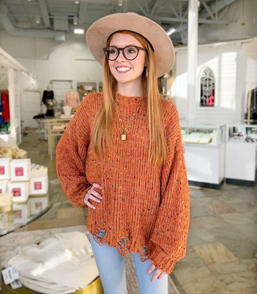 Everyone's Perfect Confetti Sweater