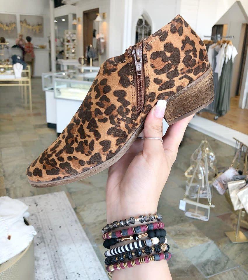 Jasper Leopard Crop Bootie