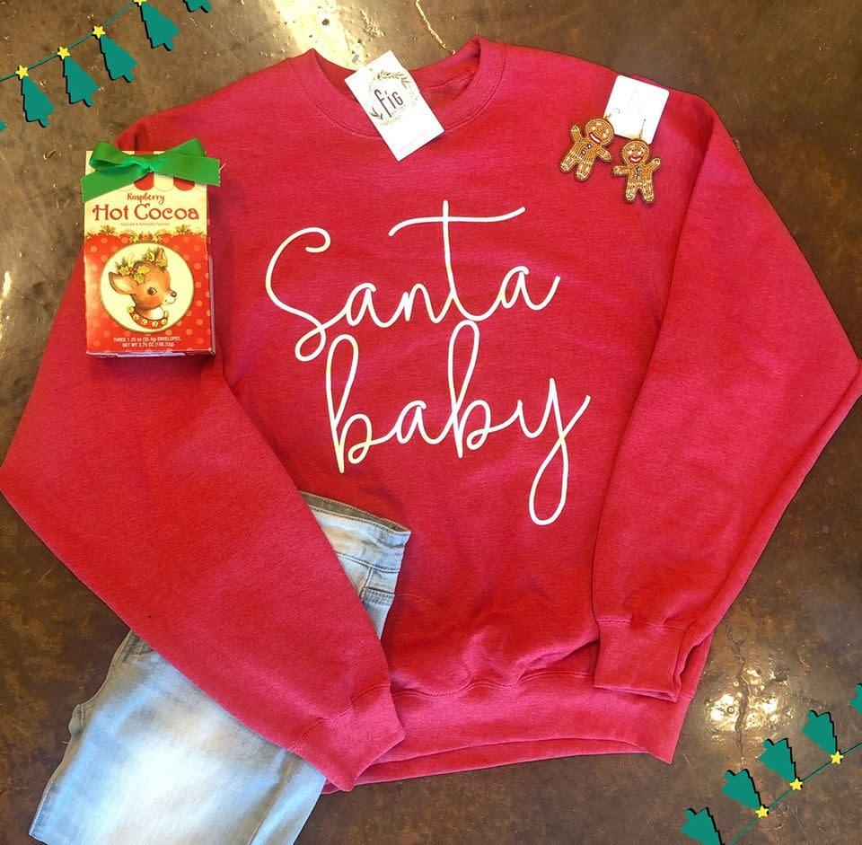 Santa baby Sweatshirt