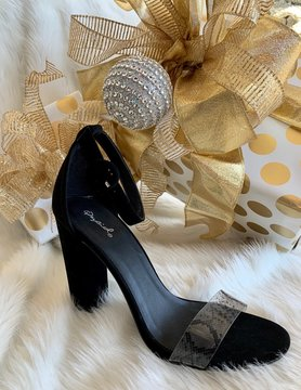 Cool In California Black Heels