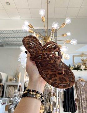 Cheetah Handmade Sandals