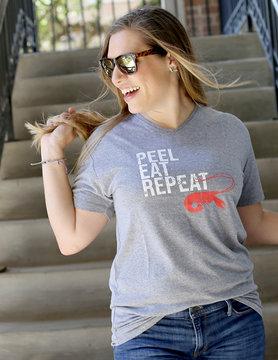 Peel Eat Repeat V Neck