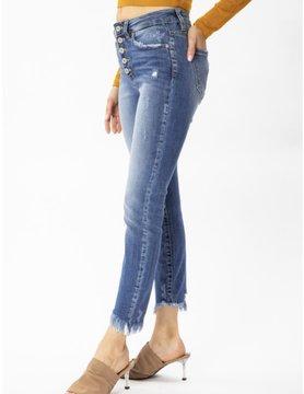 Kancan Gemma High Rise Ankle Skinny