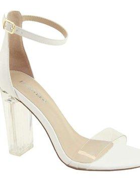Going Uptown White Heels