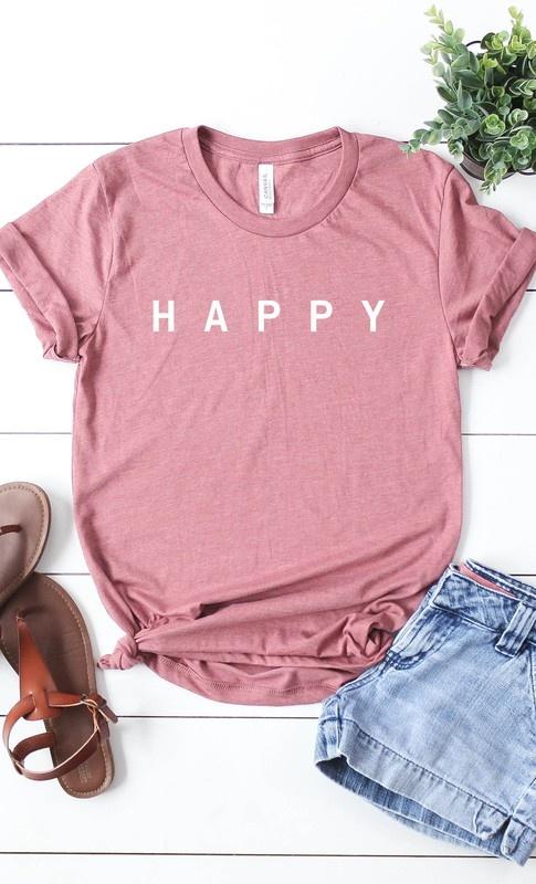 Happy Graphic Tee