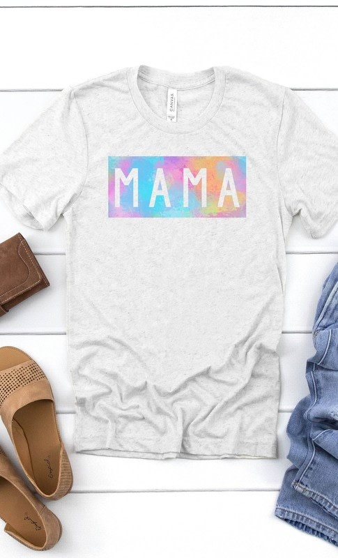 Watercolor Mama Graphic Tee