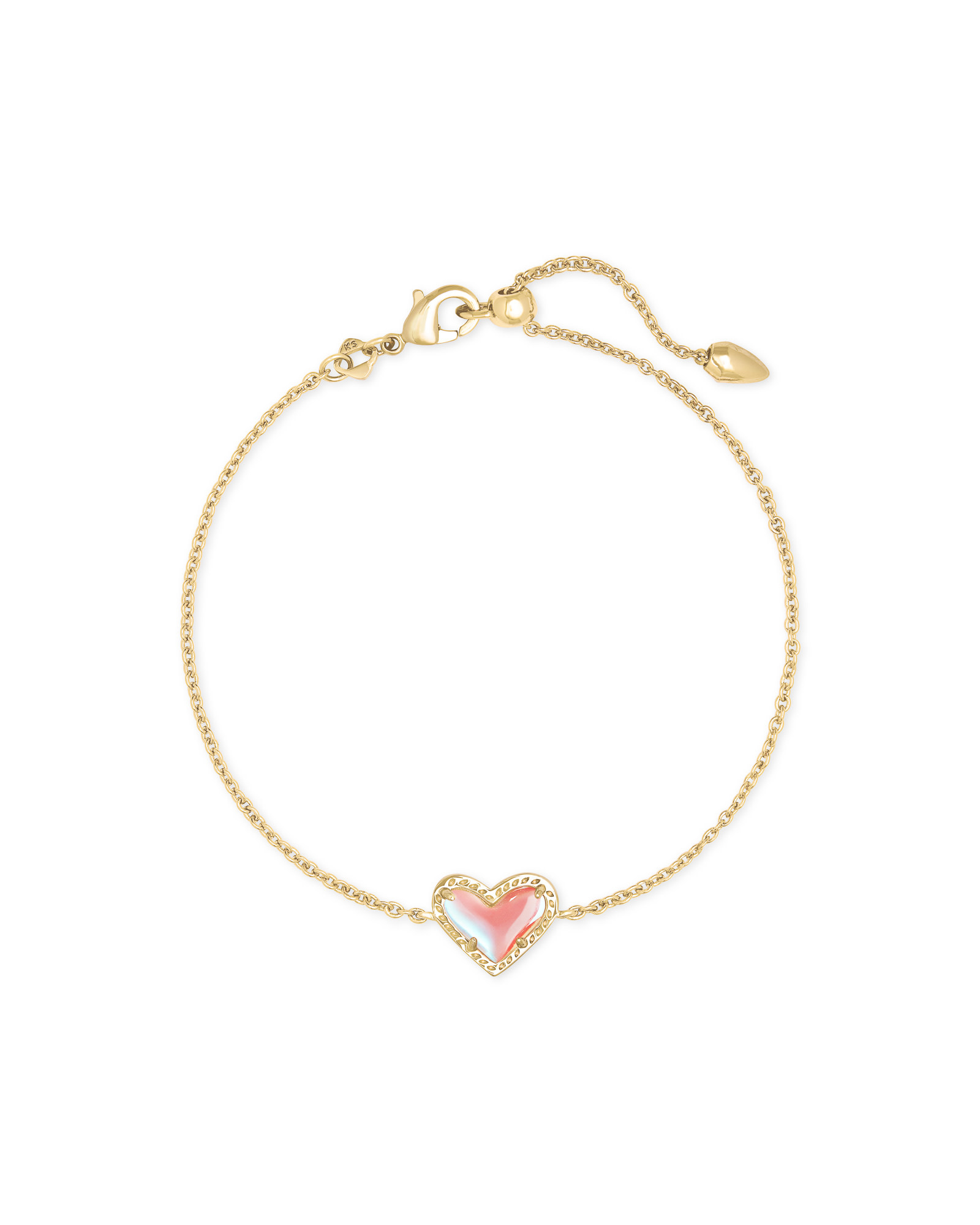 Ari Heart Delicate Bracelet