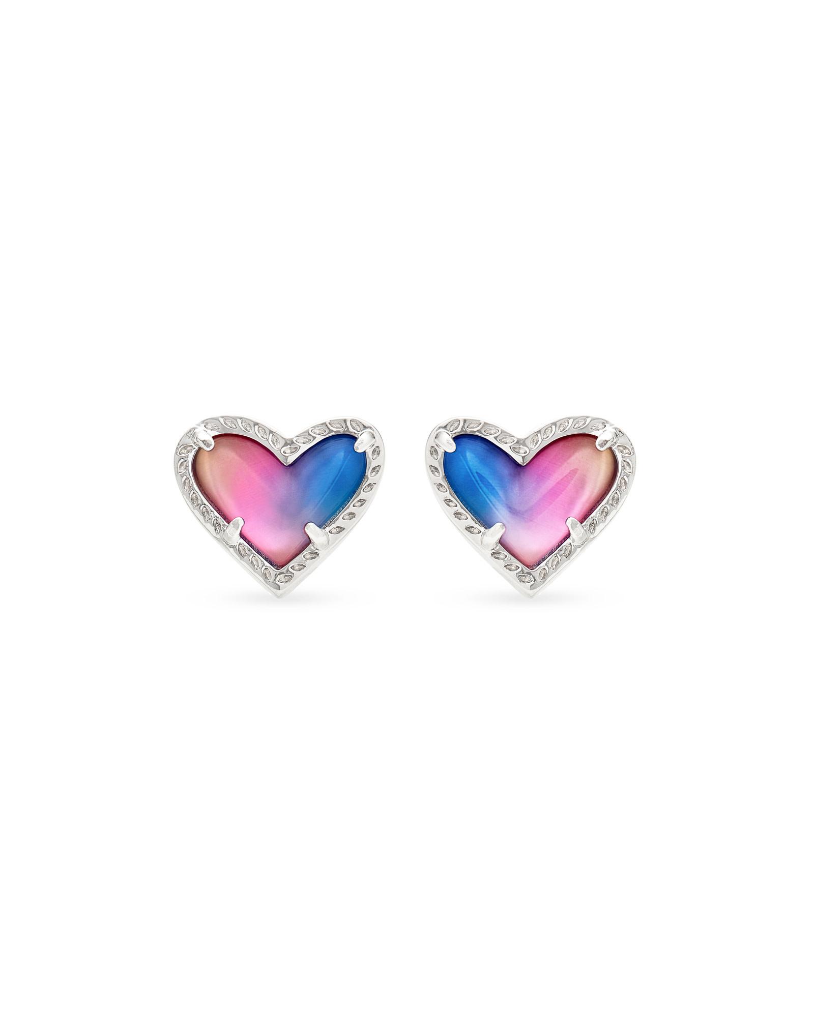 Ari Heart Stud Earring