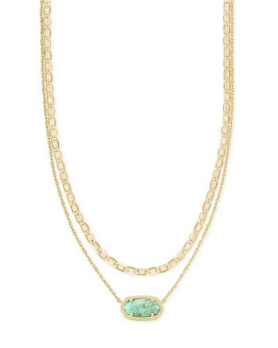 Elisa Multi Strand Necklace