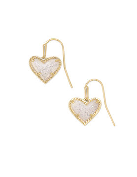 Ari Heart Drop Earrings
