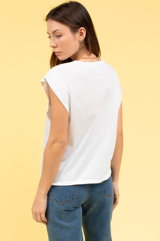 Solid SS Muscle Tee