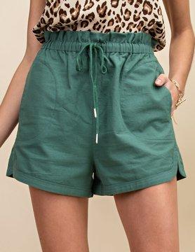Oxford String Shorts