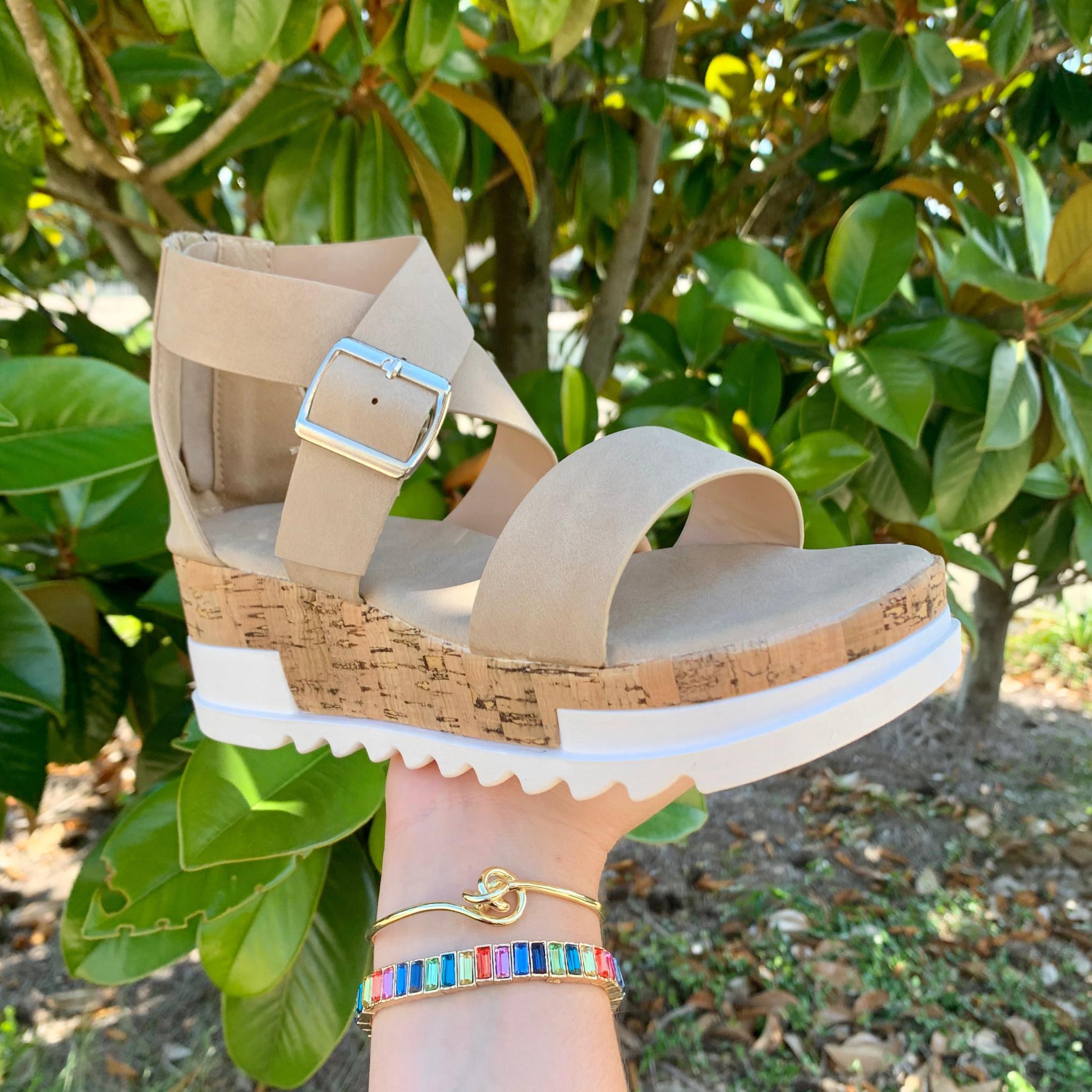 Savannah Wedge Sandals