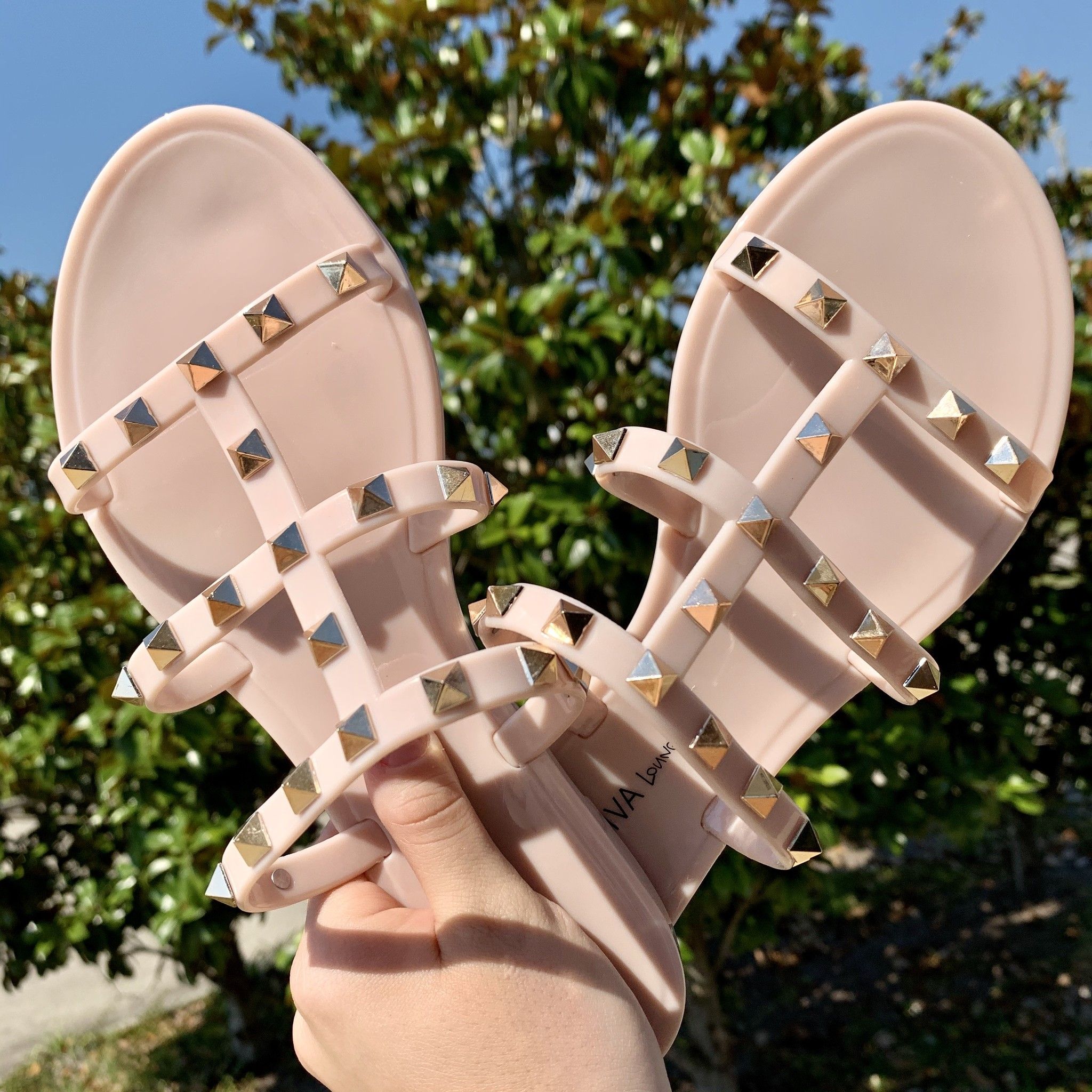 Joanie Studded Sandals