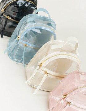 Killing It Clear Mini Backpack