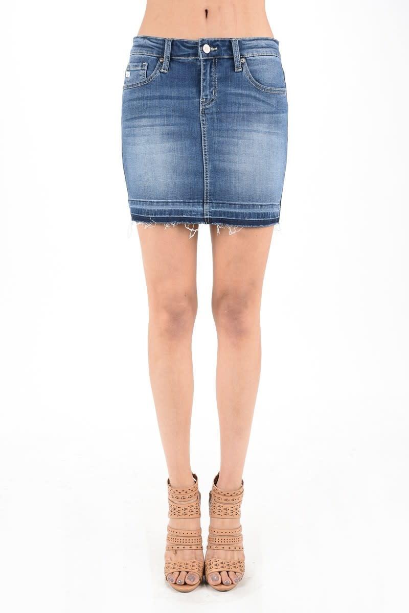 The Kristen Denim Skirt