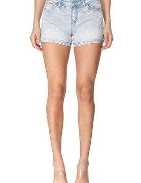 The Katie Mid Rise Denim Shorts