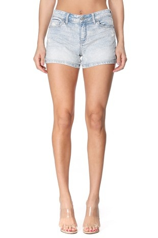 The Katie Mid Rise Denim Shorts