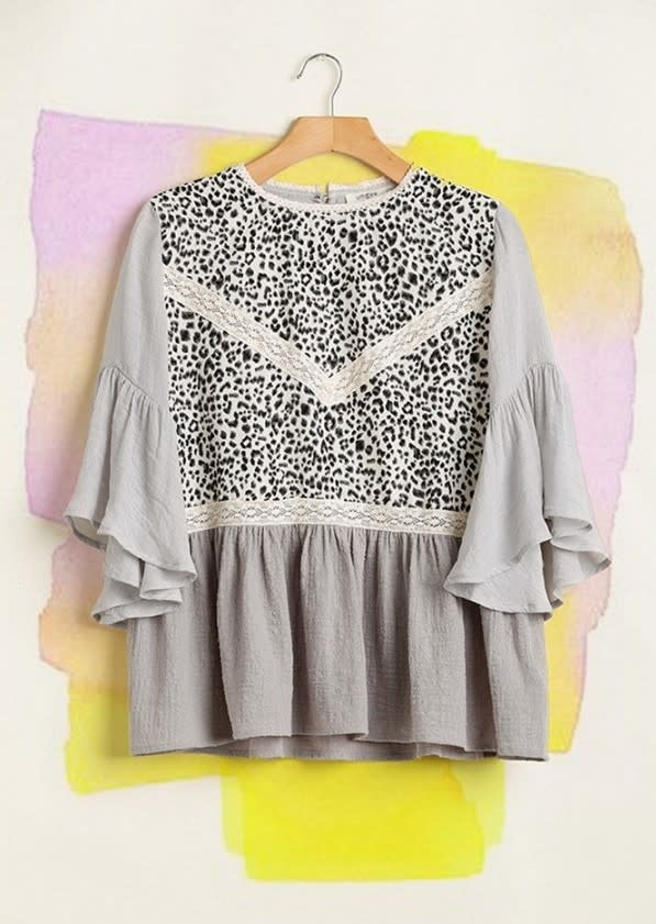 To Be Continued Leopard Top