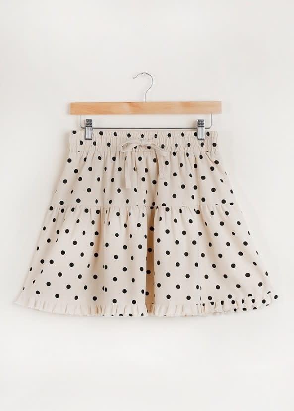 Queen's Ransom Polka Dot Skirt