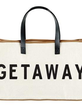 Canvas  Getaway Tote