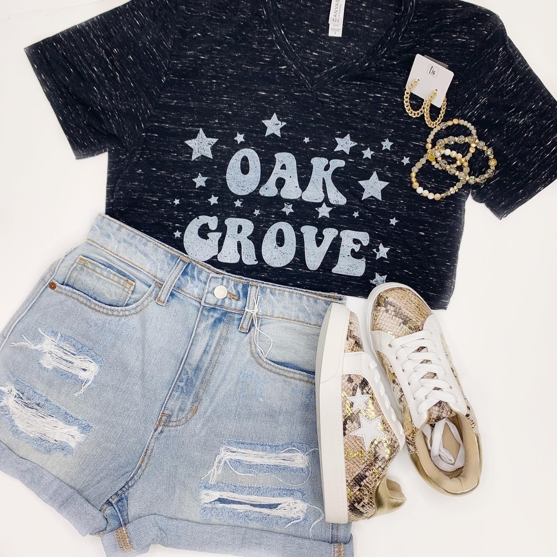 Oak Grove Tee - Graphite