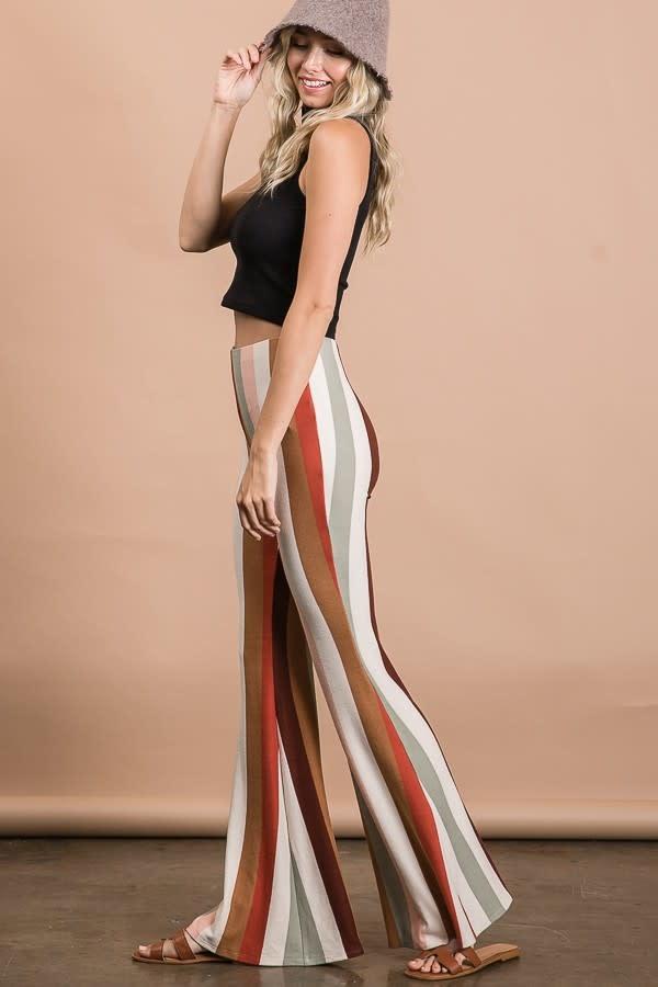 Give Me The Rundown Stripe Pants