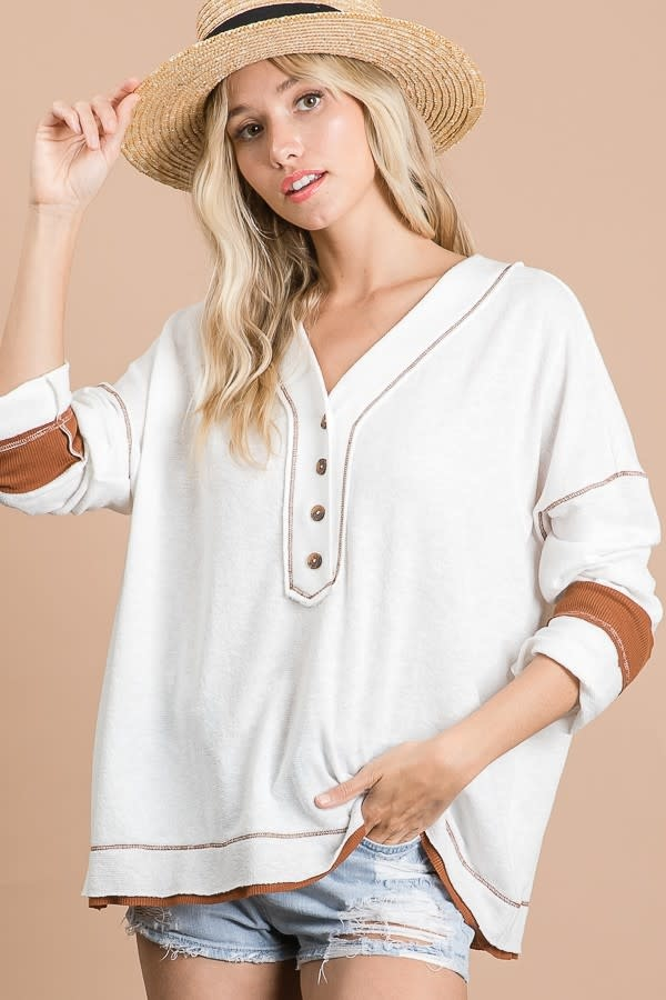 Peaceful Moments Knit Top