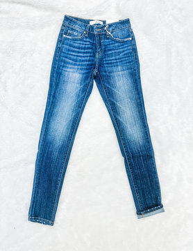 The Rachel Non-distressed Skinnies