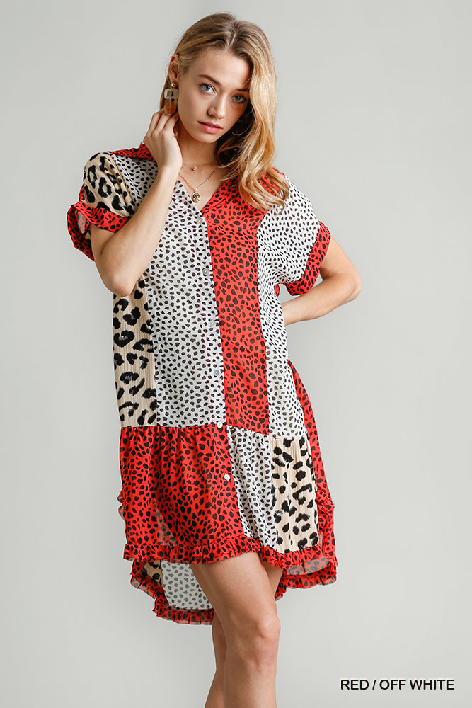 On The Patio Printed Dress