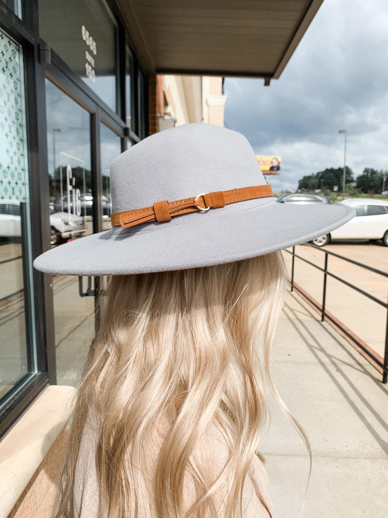 Wide Brim Panama Hat