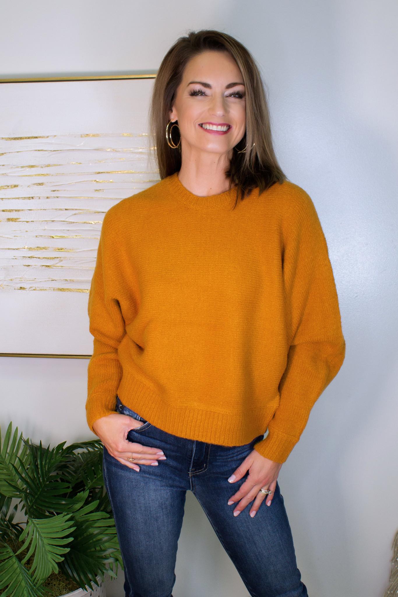 Dizzy Knit Sweater Top