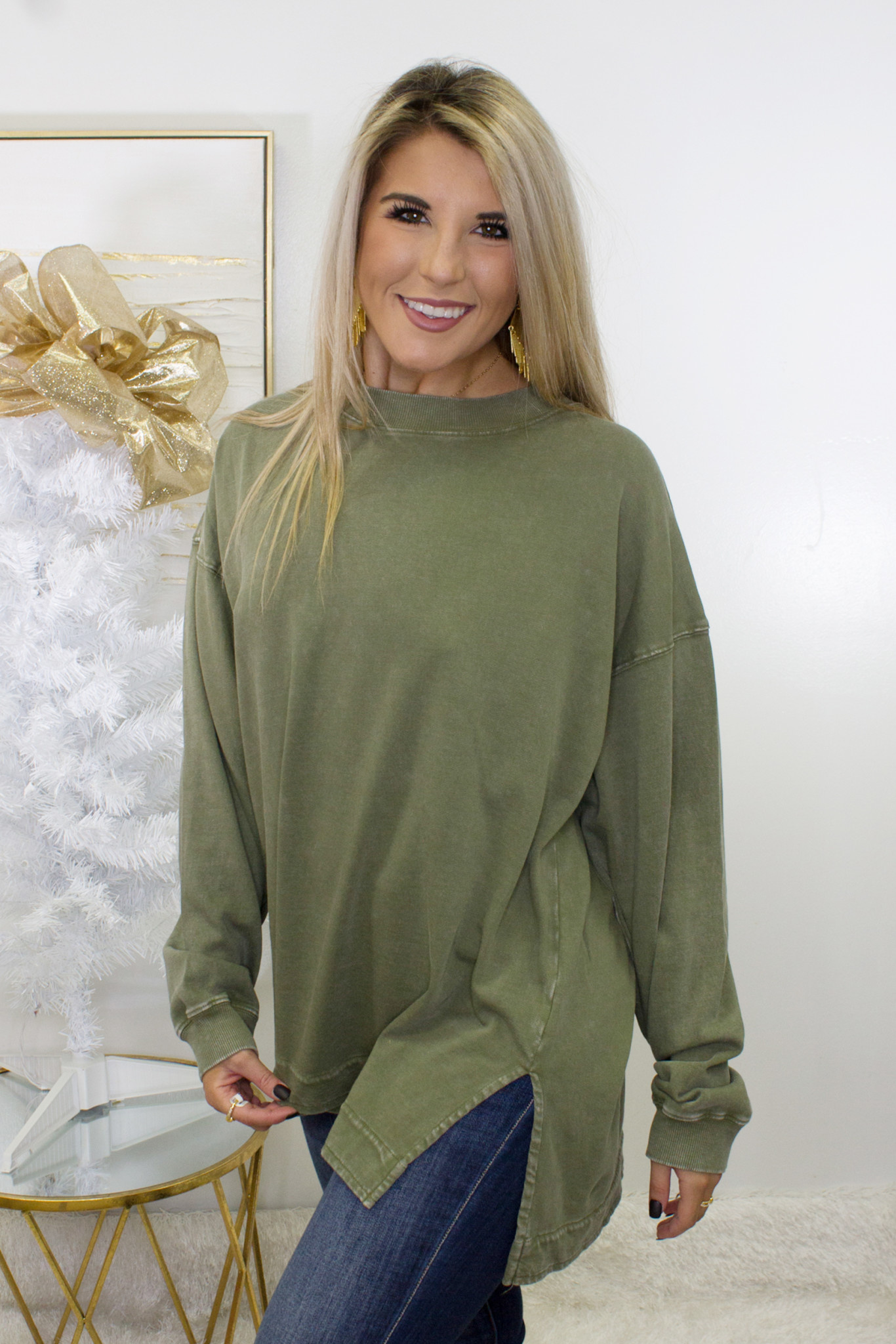 LS Mineral Wash Terry Top