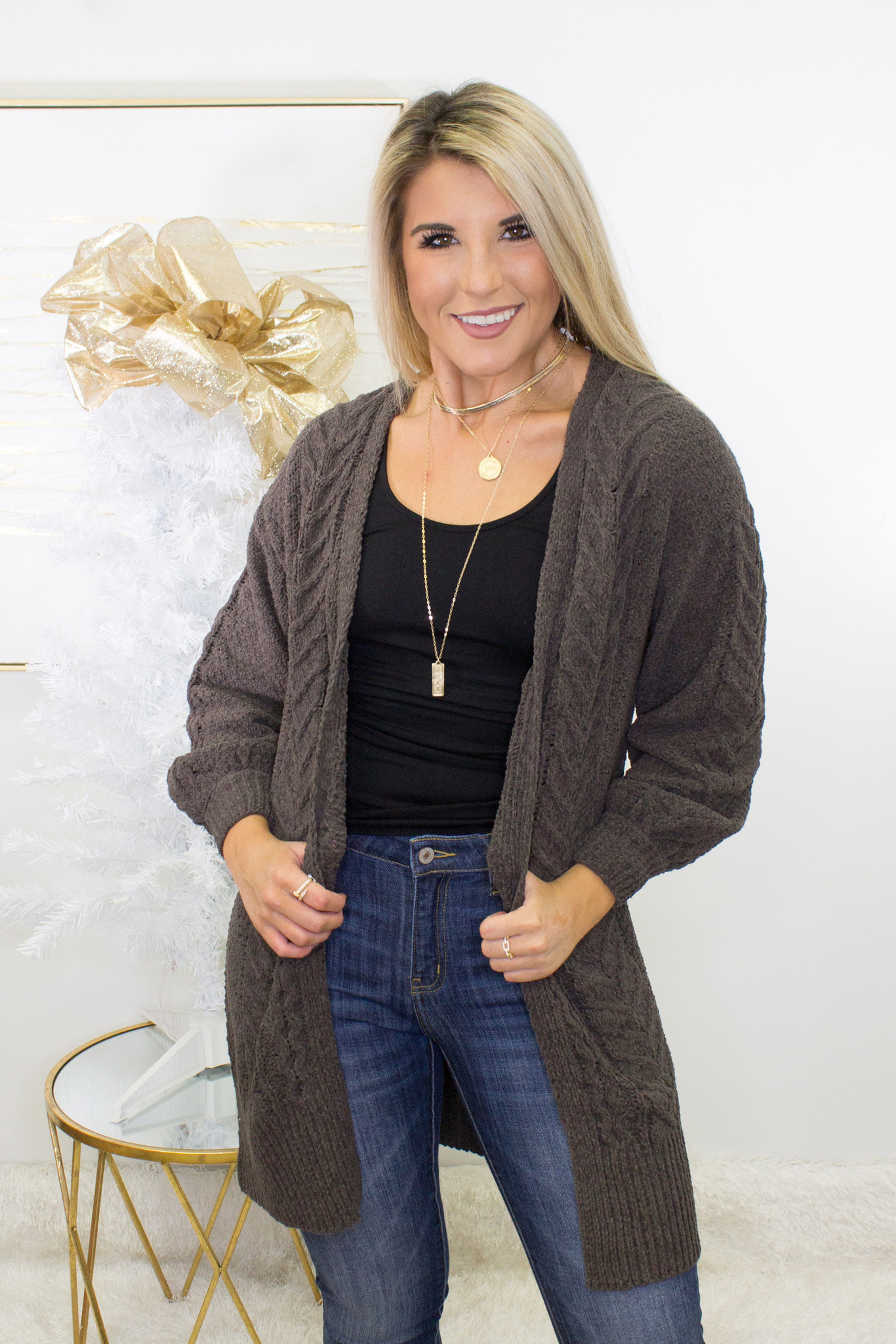 Dream All Day Large Knit Cardigan