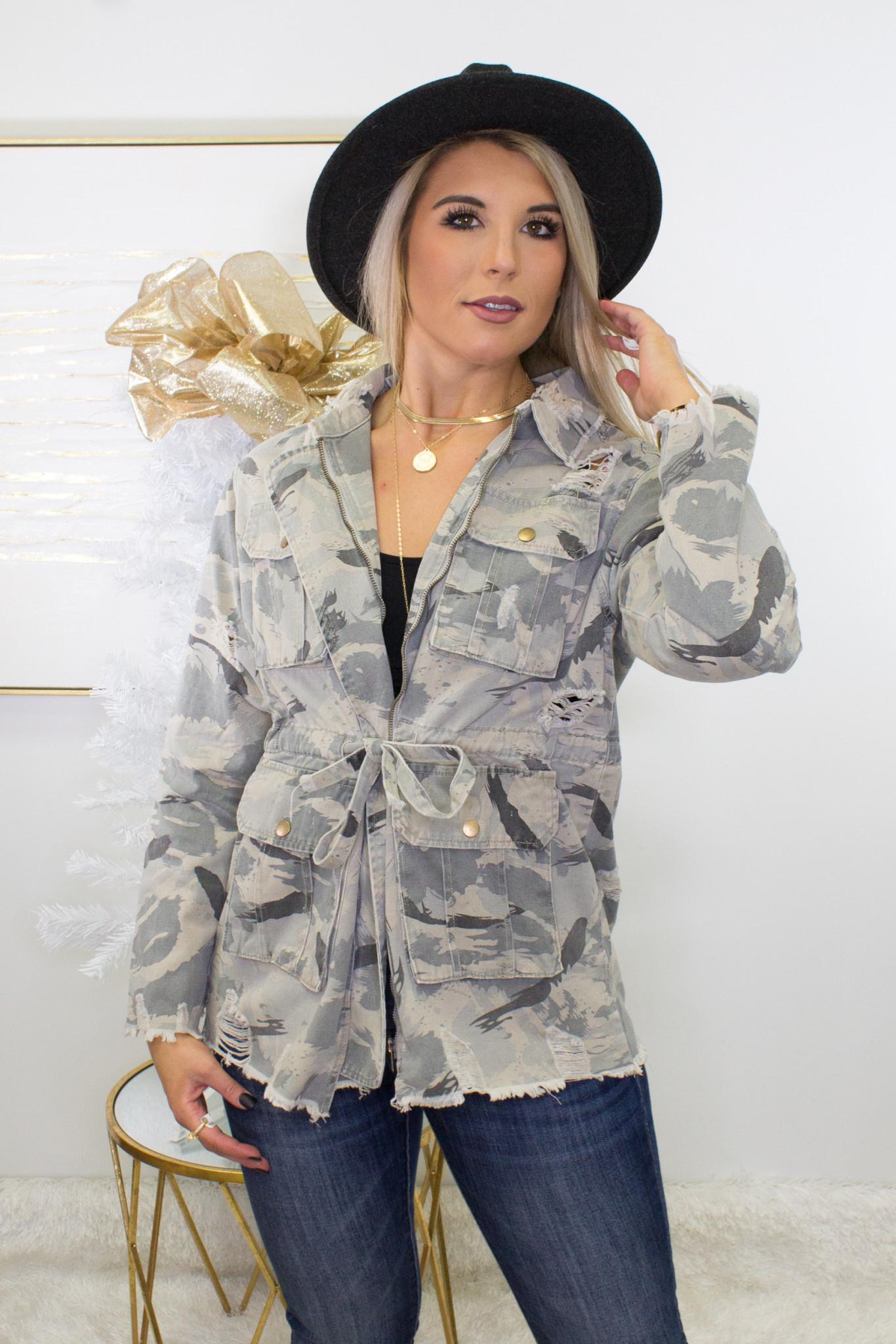 Demi Longline Jacket