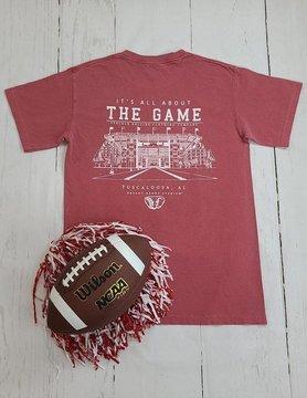 The Game CC Crimson Alabama Tee