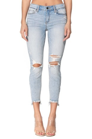 Eunina Josie Mid Rise Skinny Jeans