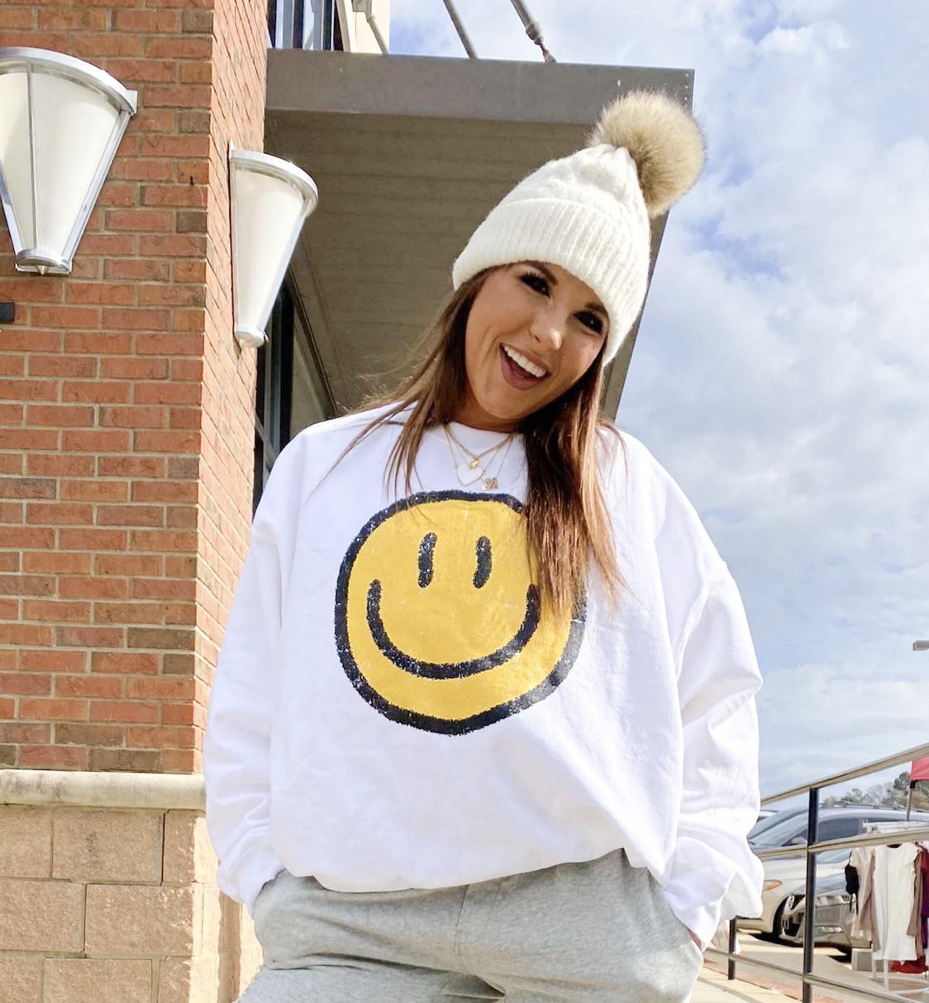 Be Happy Crewneck Sweatshirt