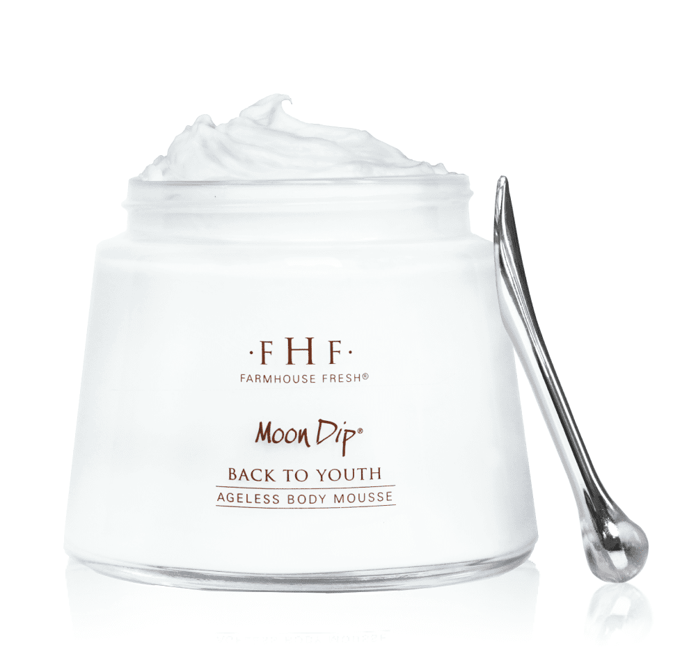 Moon Dip Back to Youth Body Mousse Hand Cream 2oz