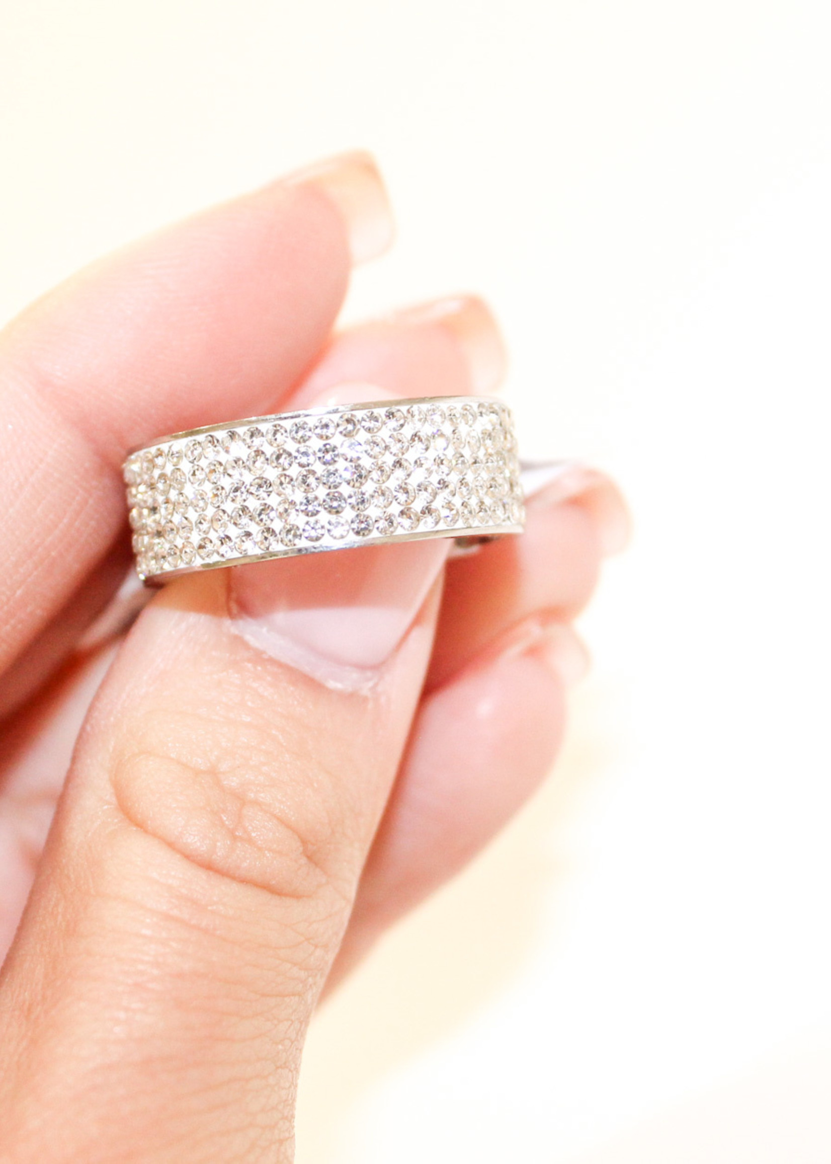 Clear Jewel Ring