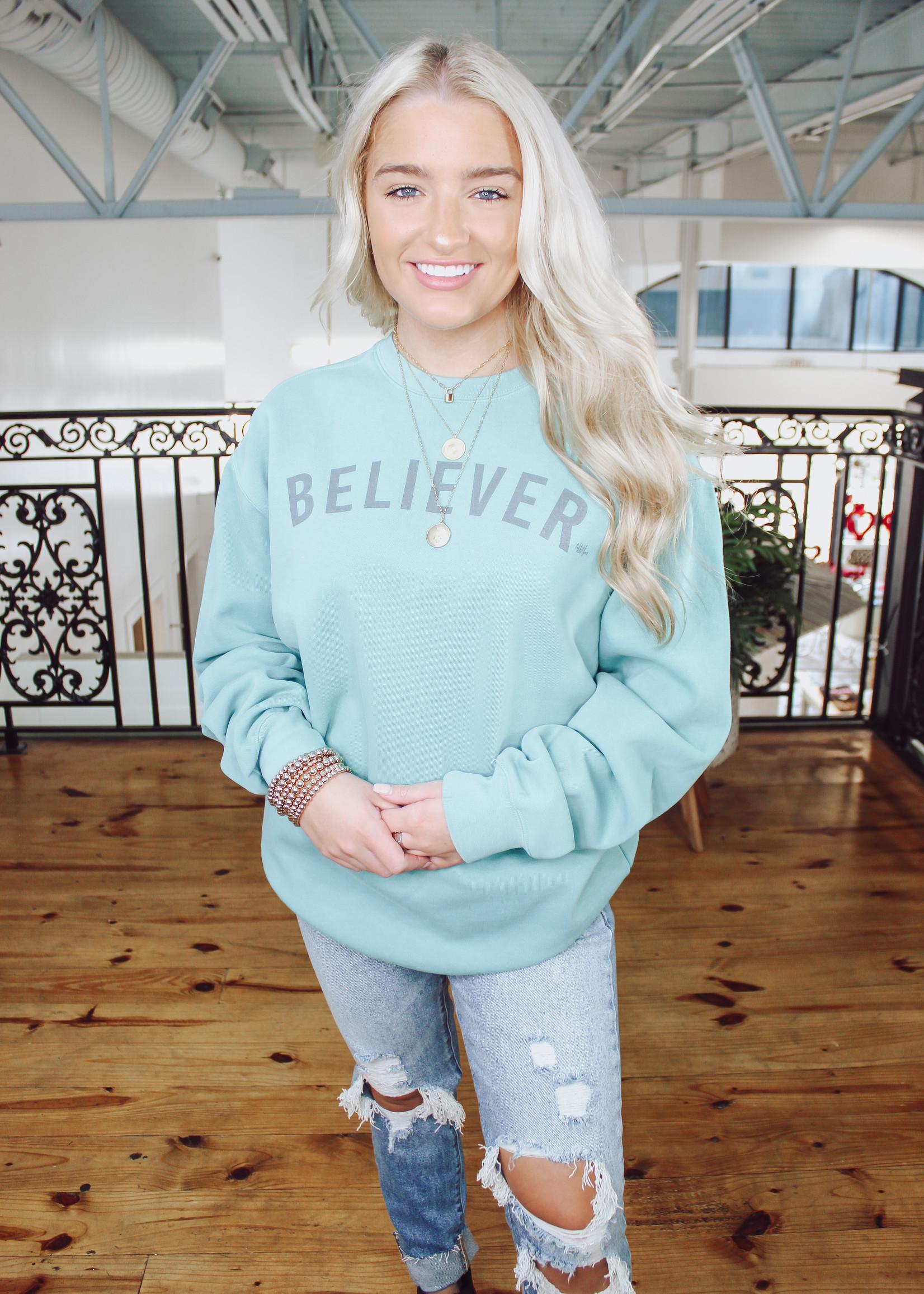 Believer Comfort Colors Sweatshirt