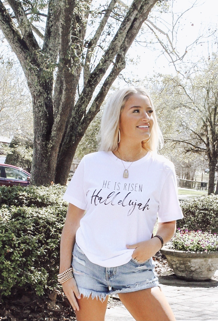 He Is Risen Graphic Tee