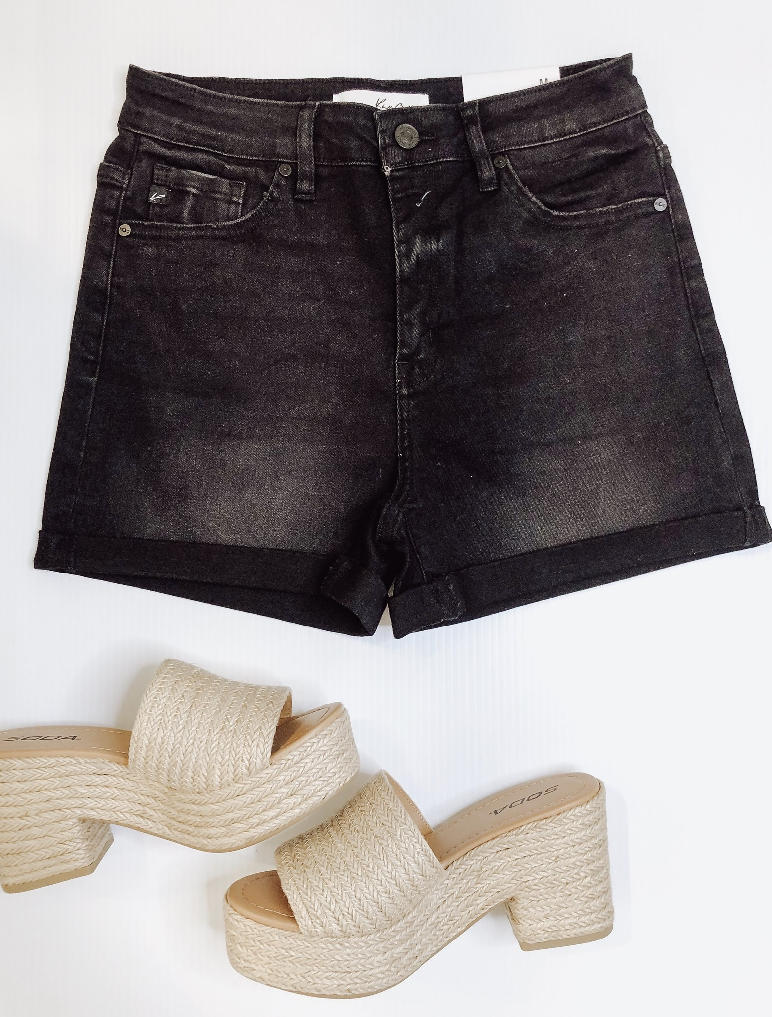 Hazel High Rise Shorts