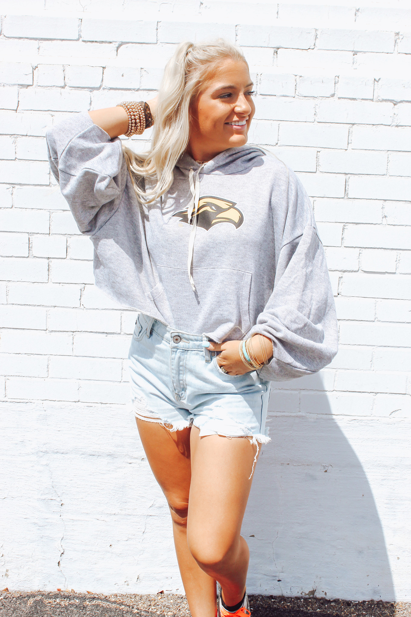 The Delilah Cropped Hoodie