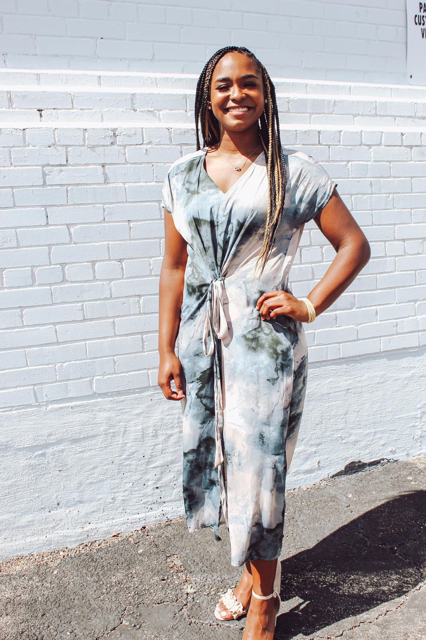 Garment Dyed Maxi Dress