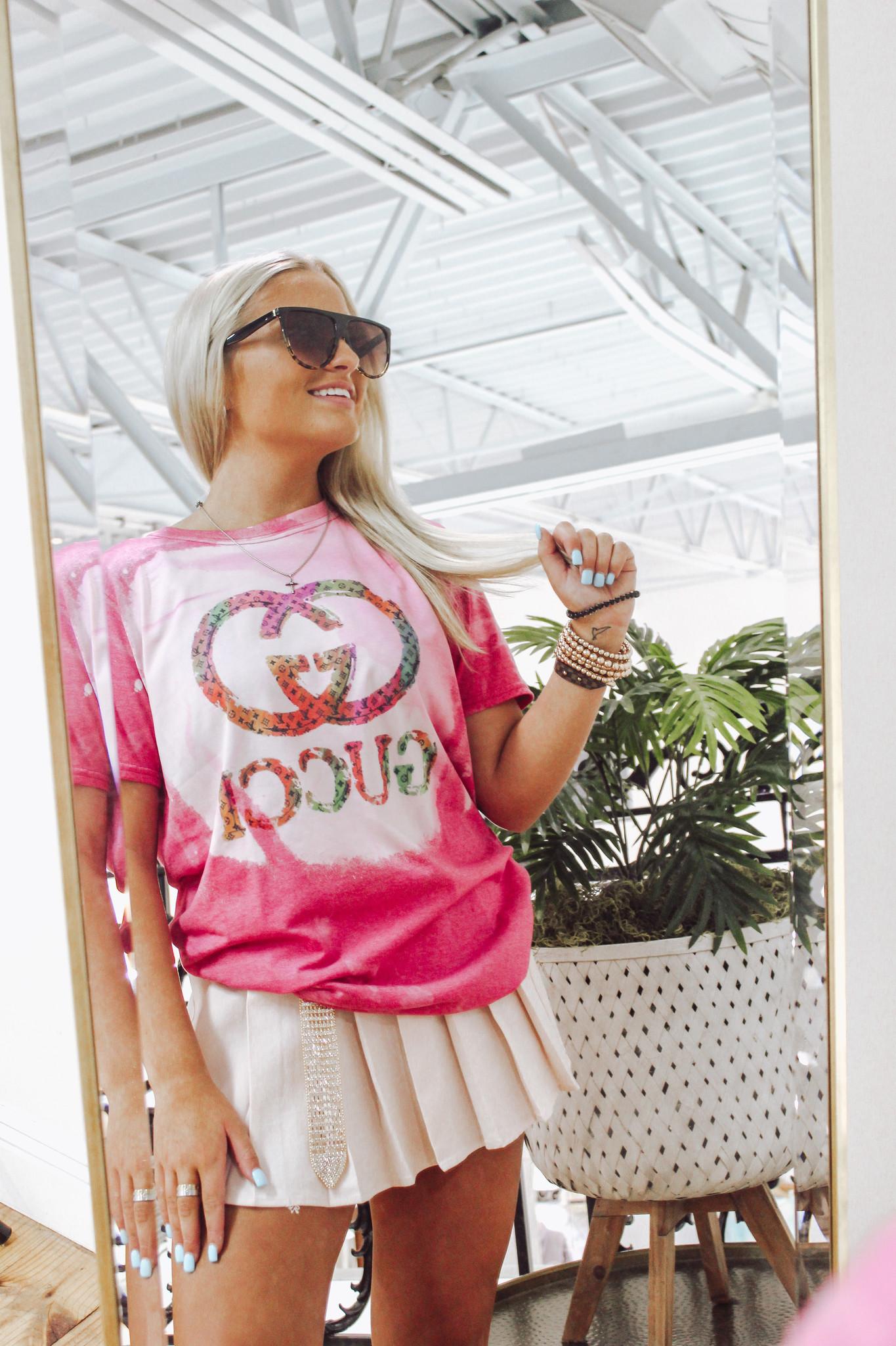 Colorful Gucci LV Tshirt