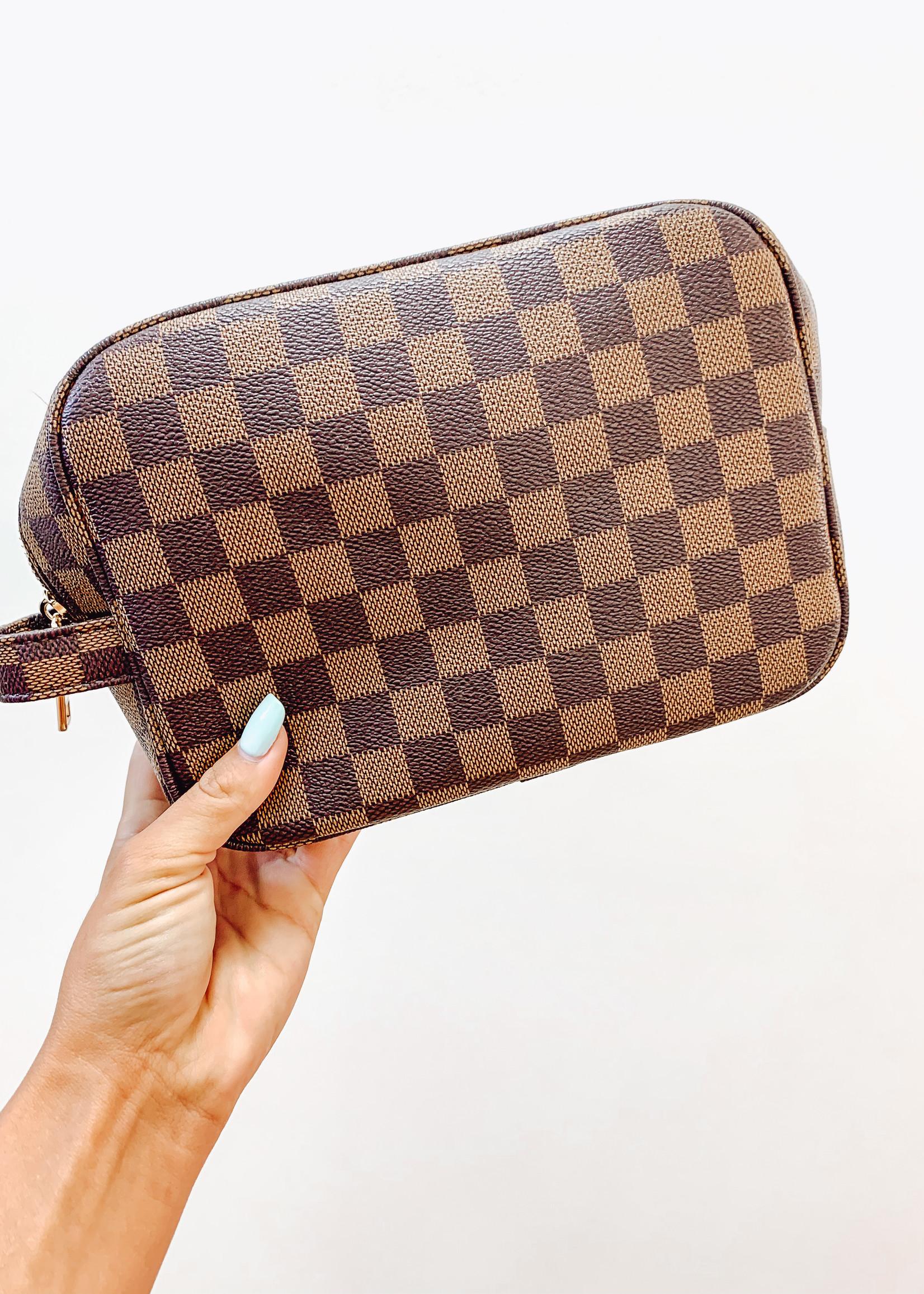 Designer Inspired Toiletree Bag