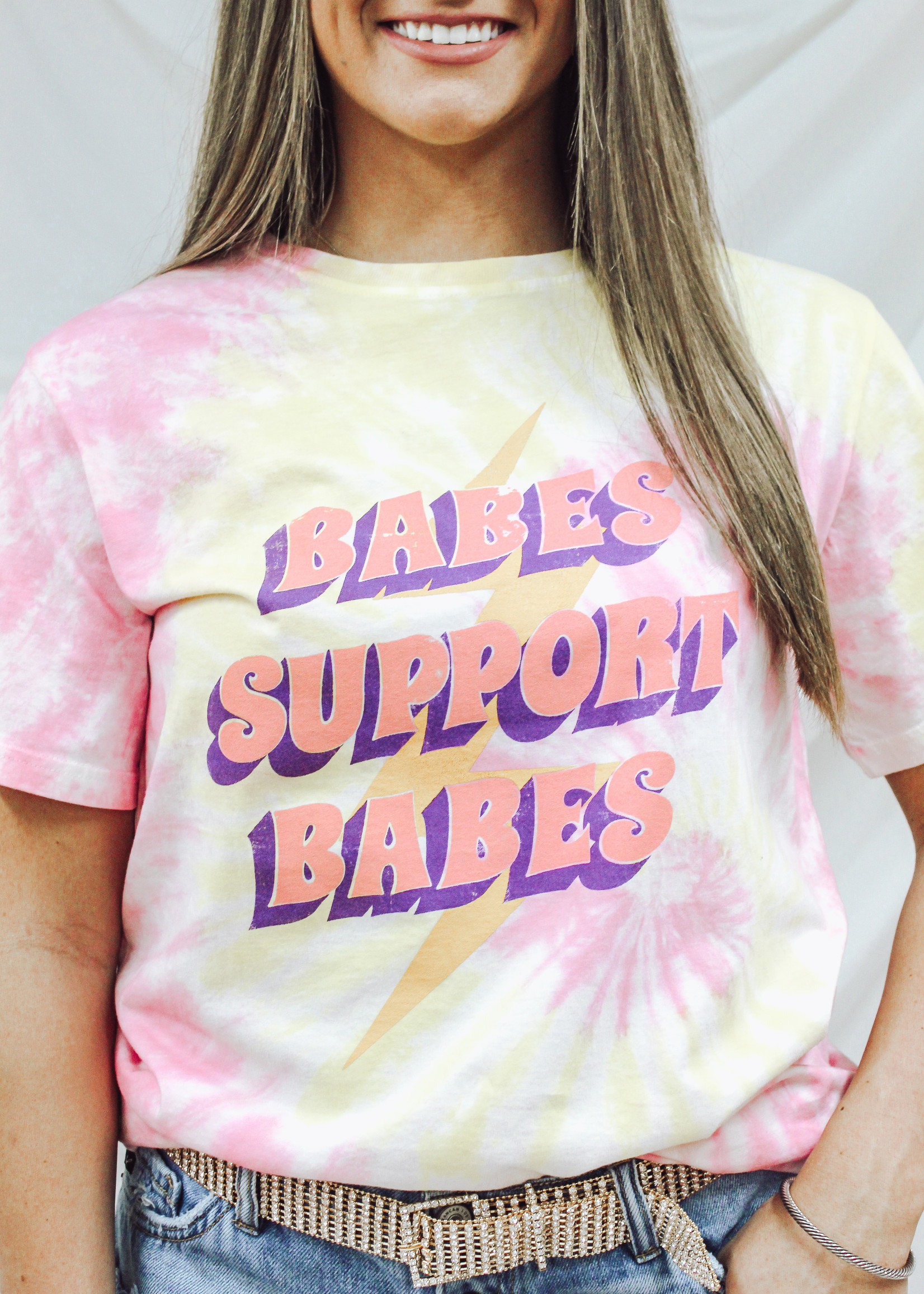 Short Sleeve Babes Support Babes Top